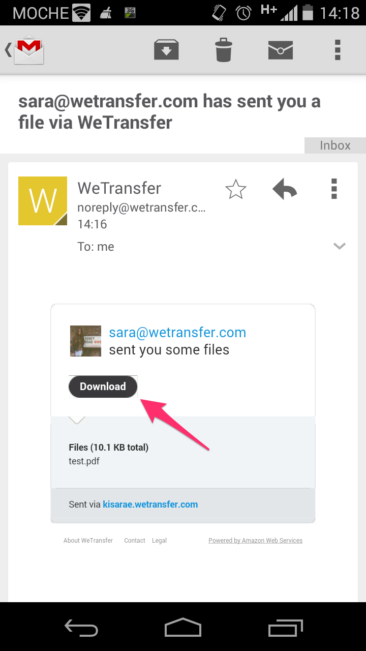 resume Wetransfer Resume Download downloading zip files on your android phone or tablet wetransfer tablet